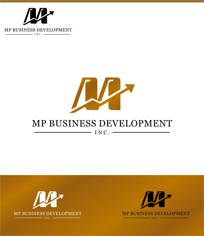 Logo Design by RasYa Muhammad Athaya - Entry No. 150 in the Logo Design Contest MP Business Development Inc. Logo Design.