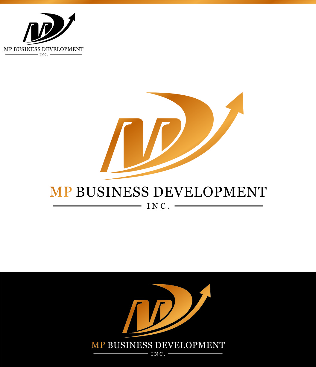 Logo Design by Ngepet_art - Entry No. 151 in the Logo Design Contest MP Business Development Inc. Logo Design.