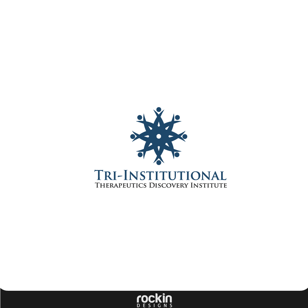 Logo Design by rockin - Entry No. 4 in the Logo Design Contest Inspiring Logo Design for Tri-Institutional Therapeutics Discovery Institute.