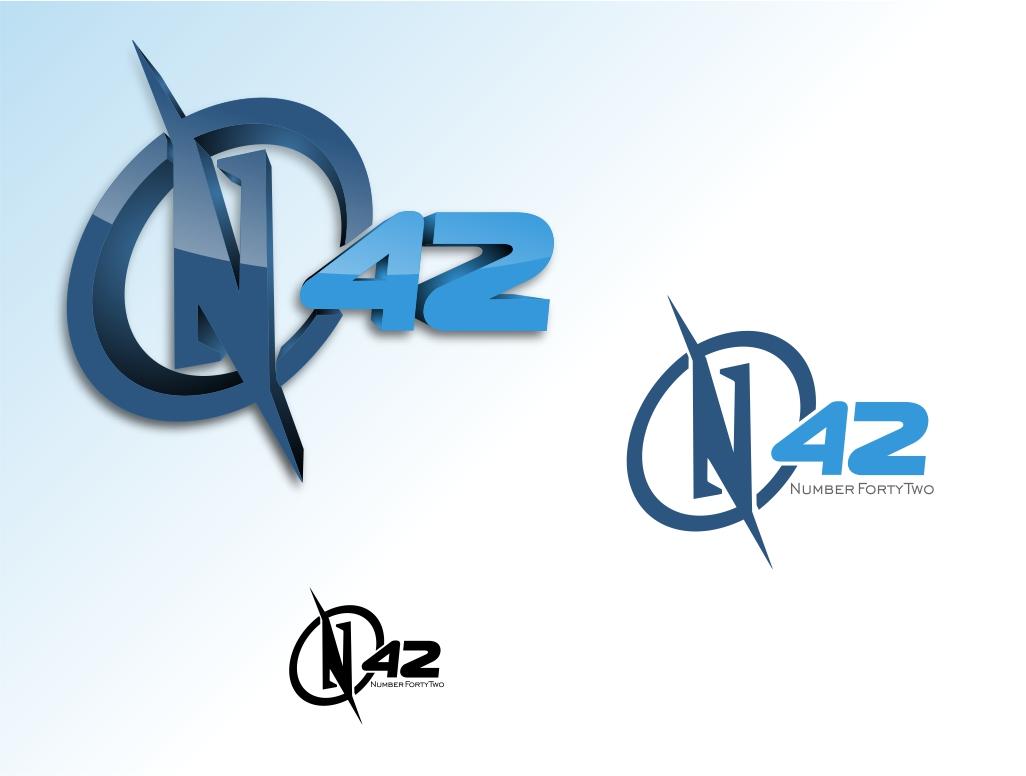 Logo Design by Chris Frederickson - Entry No. 27 in the Logo Design Contest Artistic Logo Design for Number 42.