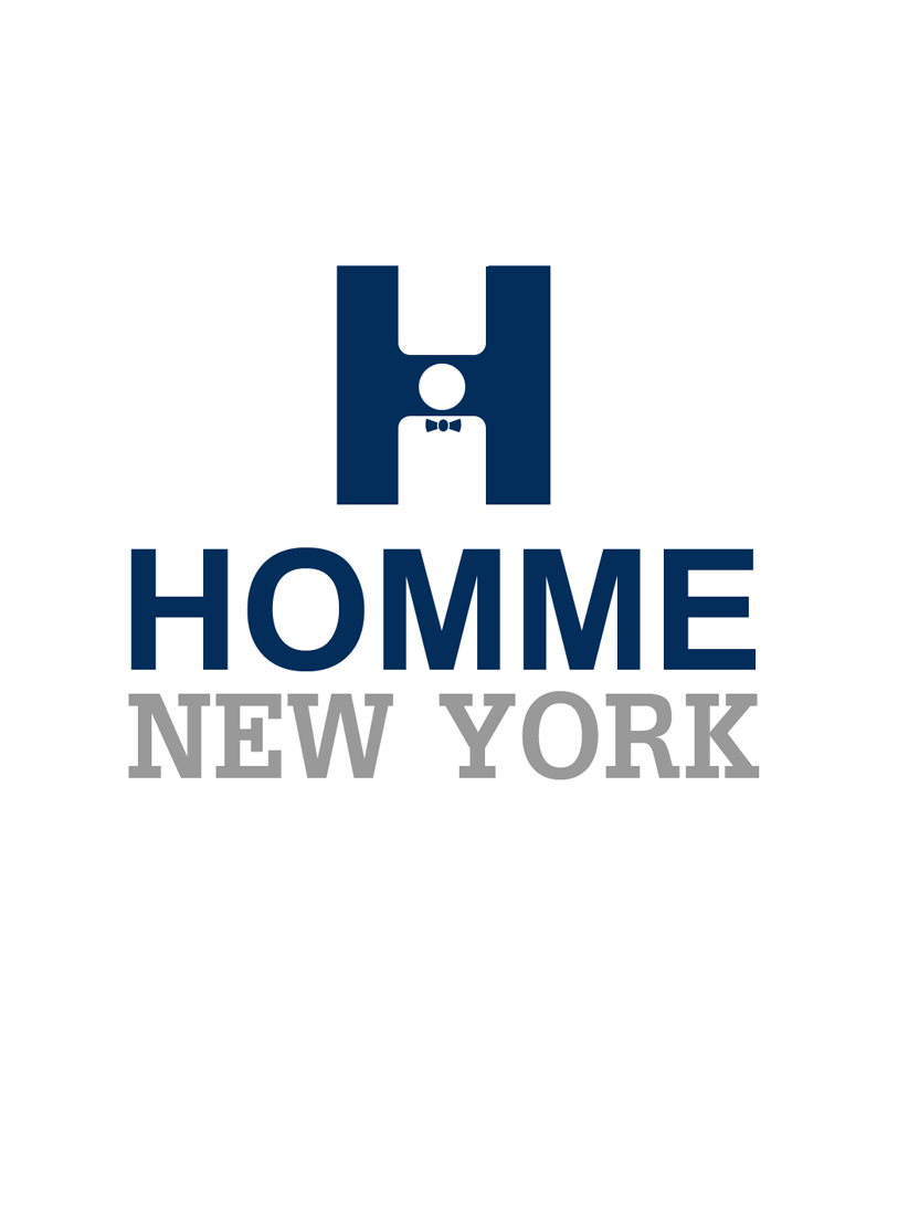 Logo Design by Robert Turla - Entry No. 25 in the Logo Design Contest Artistic Logo Design for HOMME | NEW YORK.