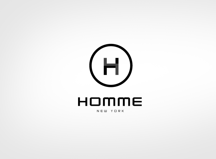 Logo Design by Jan Chua - Entry No. 27 in the Logo Design Contest Artistic Logo Design for HOMME | NEW YORK.