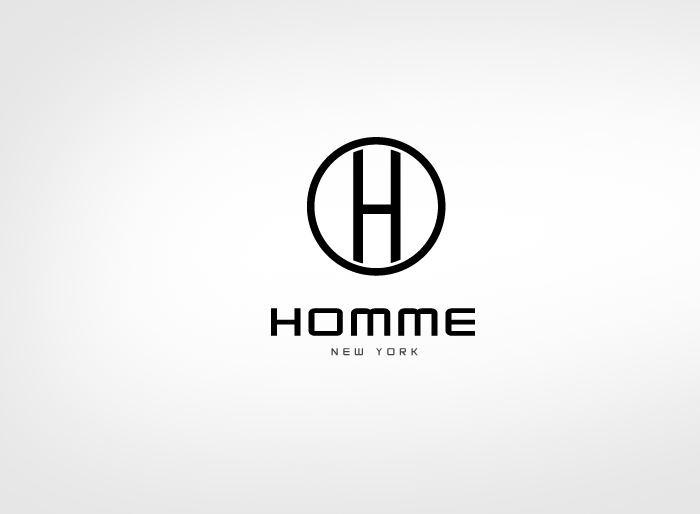 Logo Design by Jan Chua - Entry No. 28 in the Logo Design Contest Artistic Logo Design for HOMME | NEW YORK.