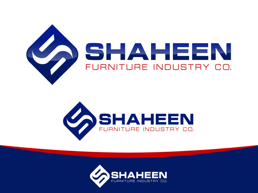 Logo Design by Richard Soriano - Entry No. 77 in the Logo Design Contest Artistic Logo Design for Shaheen Furniture Industry Co..