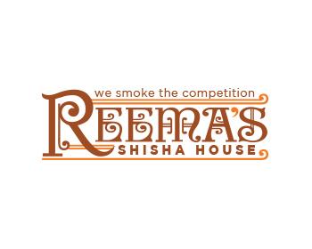 Logo Design by dimasrio - Entry No. 56 in the Logo Design Contest Captivating Logo Design for Reema's Shisha House.