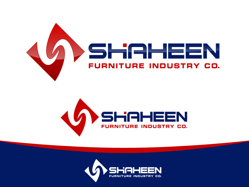Logo Design by Richard Soriano - Entry No. 78 in the Logo Design Contest Artistic Logo Design for Shaheen Furniture Industry Co..