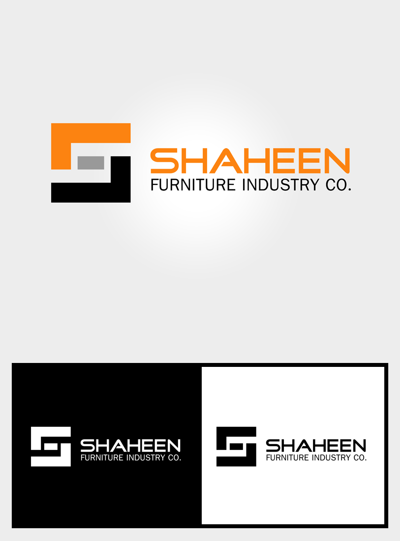 Logo Design by Private User - Entry No. 79 in the Logo Design Contest Artistic Logo Design for Shaheen Furniture Industry Co..