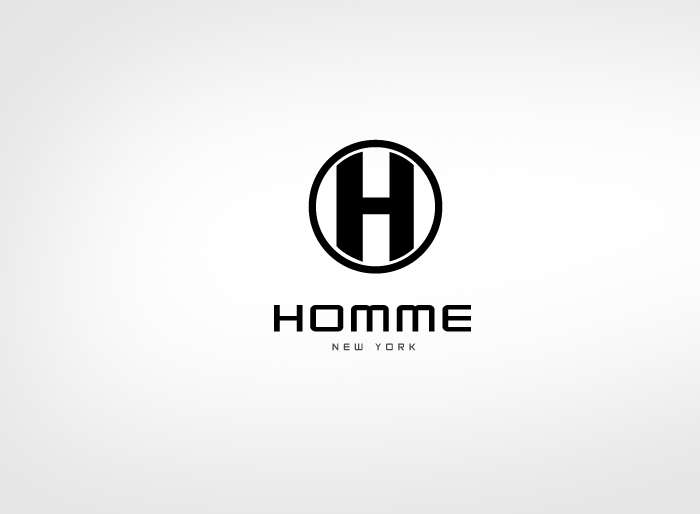 Logo Design by Jan Chua - Entry No. 29 in the Logo Design Contest Artistic Logo Design for HOMME | NEW YORK.