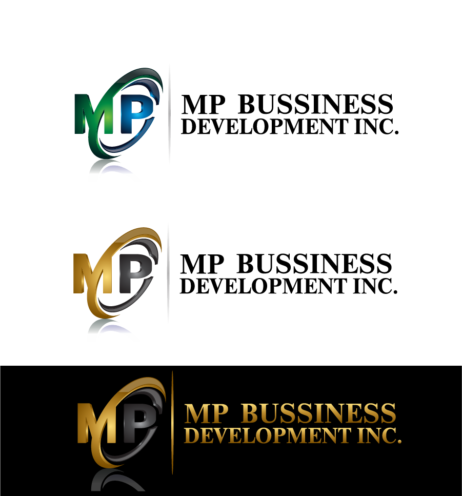 Logo Design by brands_in - Entry No. 167 in the Logo Design Contest MP Business Development Inc. Logo Design.