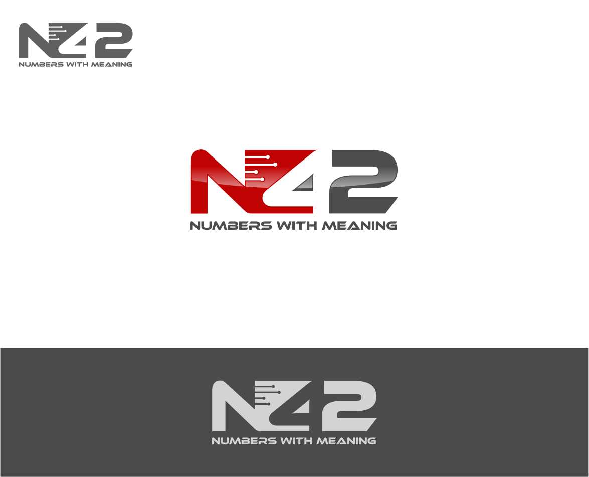 Logo Design by haidu - Entry No. 43 in the Logo Design Contest Artistic Logo Design for Number 42.