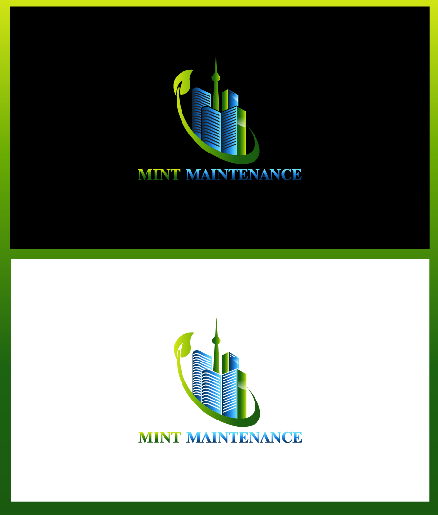 Logo Design by Private User - Entry No. 78 in the Logo Design Contest Creative Logo Design for Mint Maintenance.