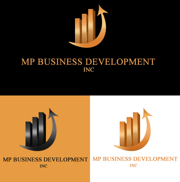 Logo Design by Crystal Desizns - Entry No. 170 in the Logo Design Contest MP Business Development Inc. Logo Design.