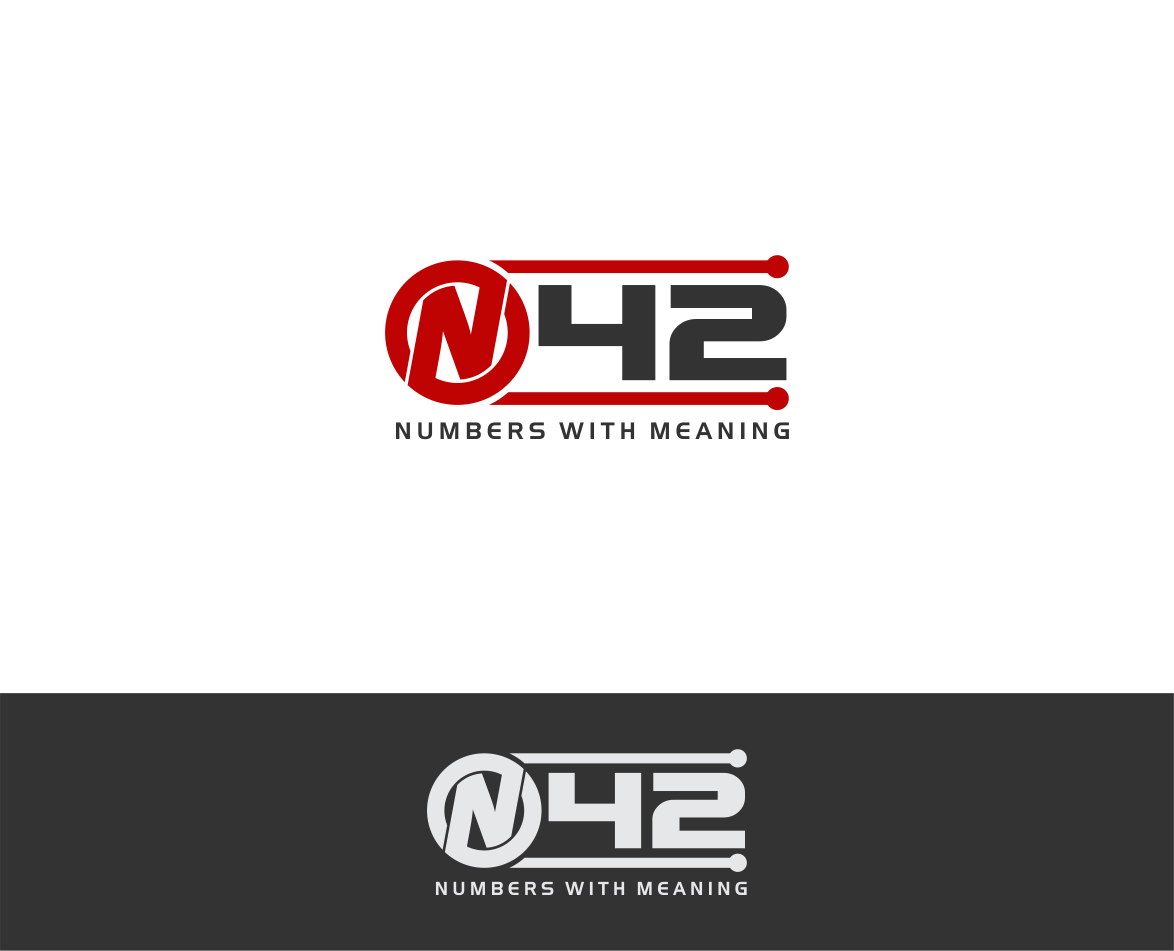 Logo Design by haidu - Entry No. 45 in the Logo Design Contest Artistic Logo Design for Number 42.