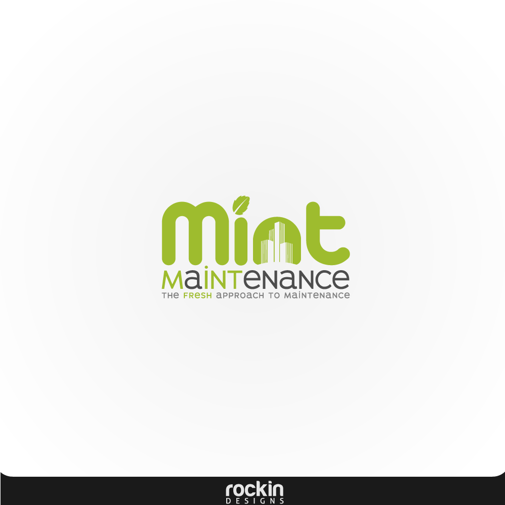 Logo Design by rockin - Entry No. 83 in the Logo Design Contest Creative Logo Design for Mint Maintenance.