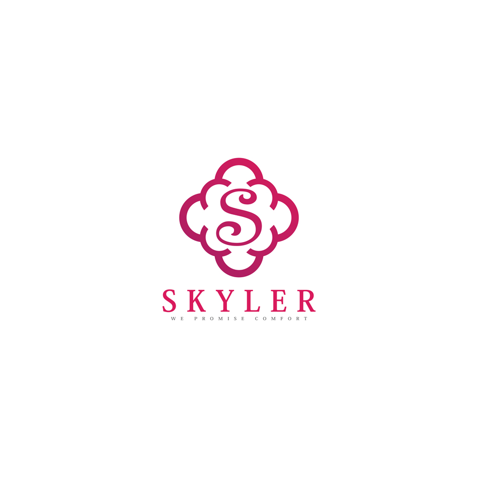 skyler clothing logo hiretheworld