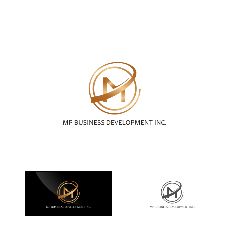 Logo Design by Muhammad Nasrul chasib - Entry No. 172 in the Logo Design Contest MP Business Development Inc. Logo Design.