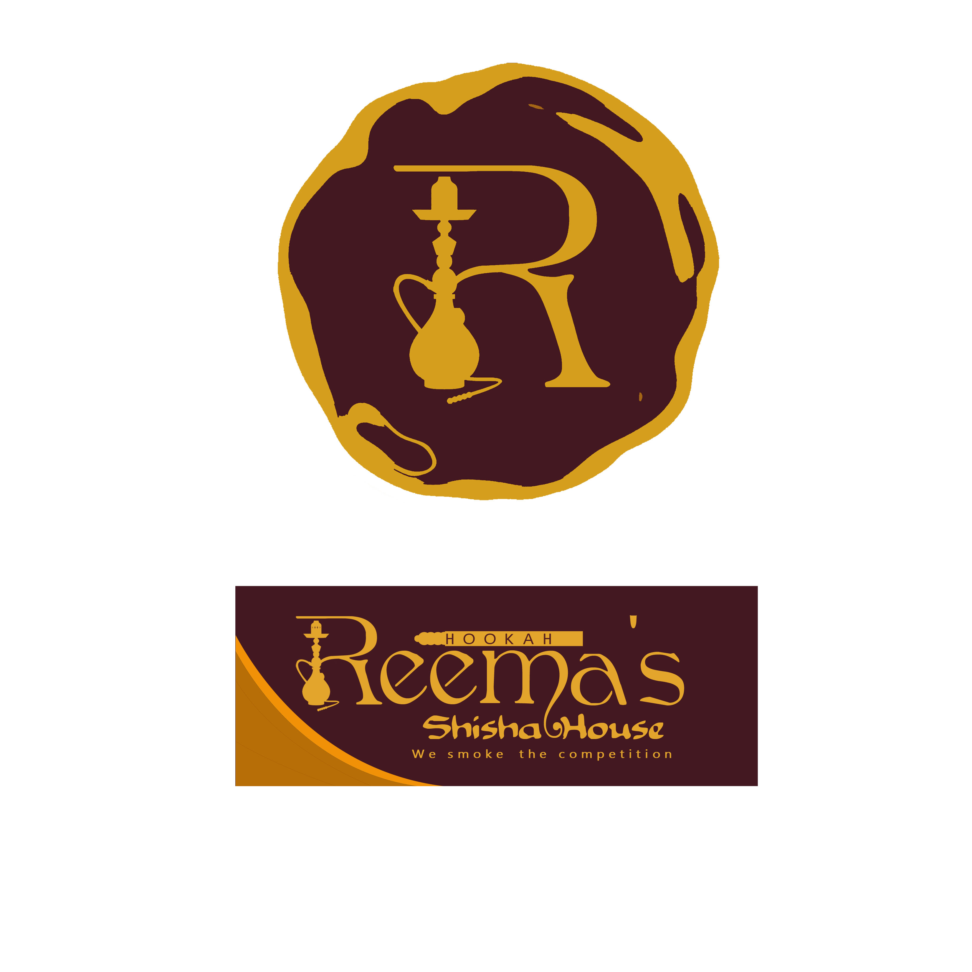 Logo Design by Allan Esclamado - Entry No. 63 in the Logo Design Contest Captivating Logo Design for Reema's Shisha House.