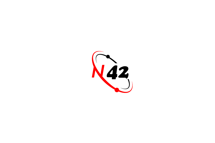 Logo Design by brands_in - Entry No. 52 in the Logo Design Contest Artistic Logo Design for Number 42.