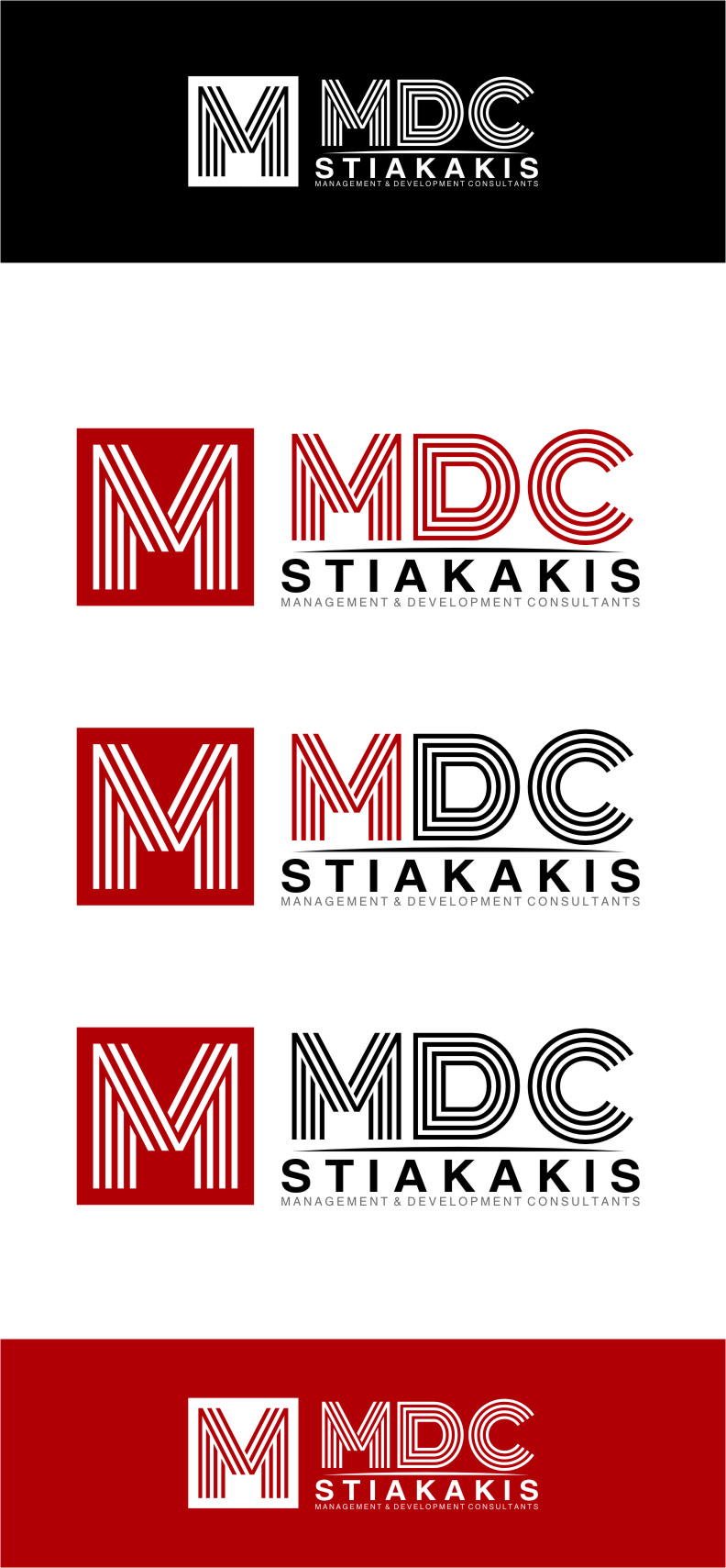 Logo Design by Ngepet_art - Entry No. 118 in the Logo Design Contest Unique Logo Design Wanted for MDC STIAKAKIS.