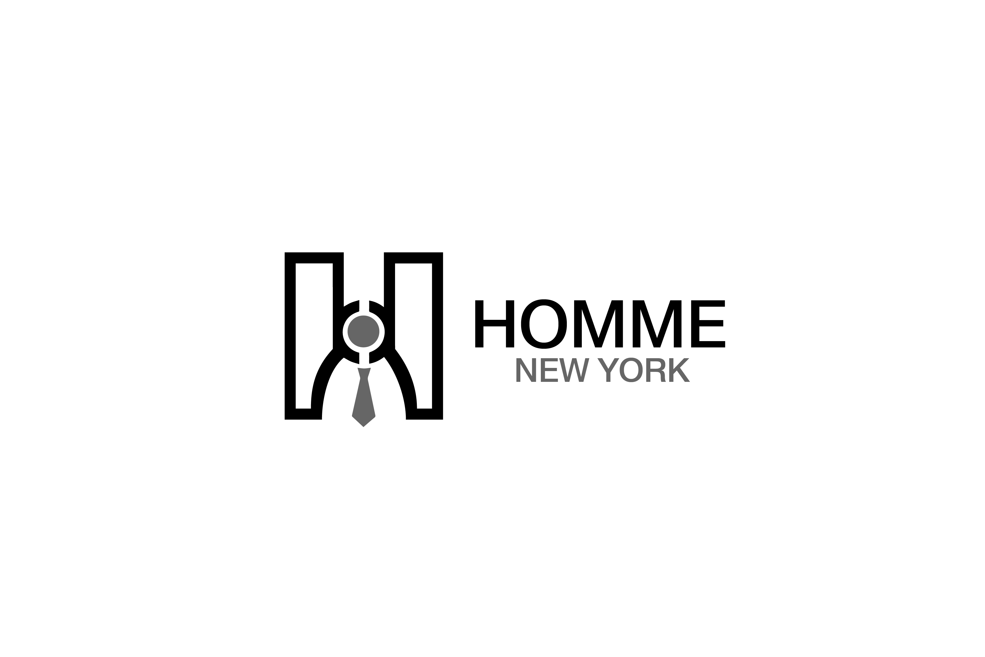 Logo Design by Private User - Entry No. 31 in the Logo Design Contest Artistic Logo Design for HOMME | NEW YORK.