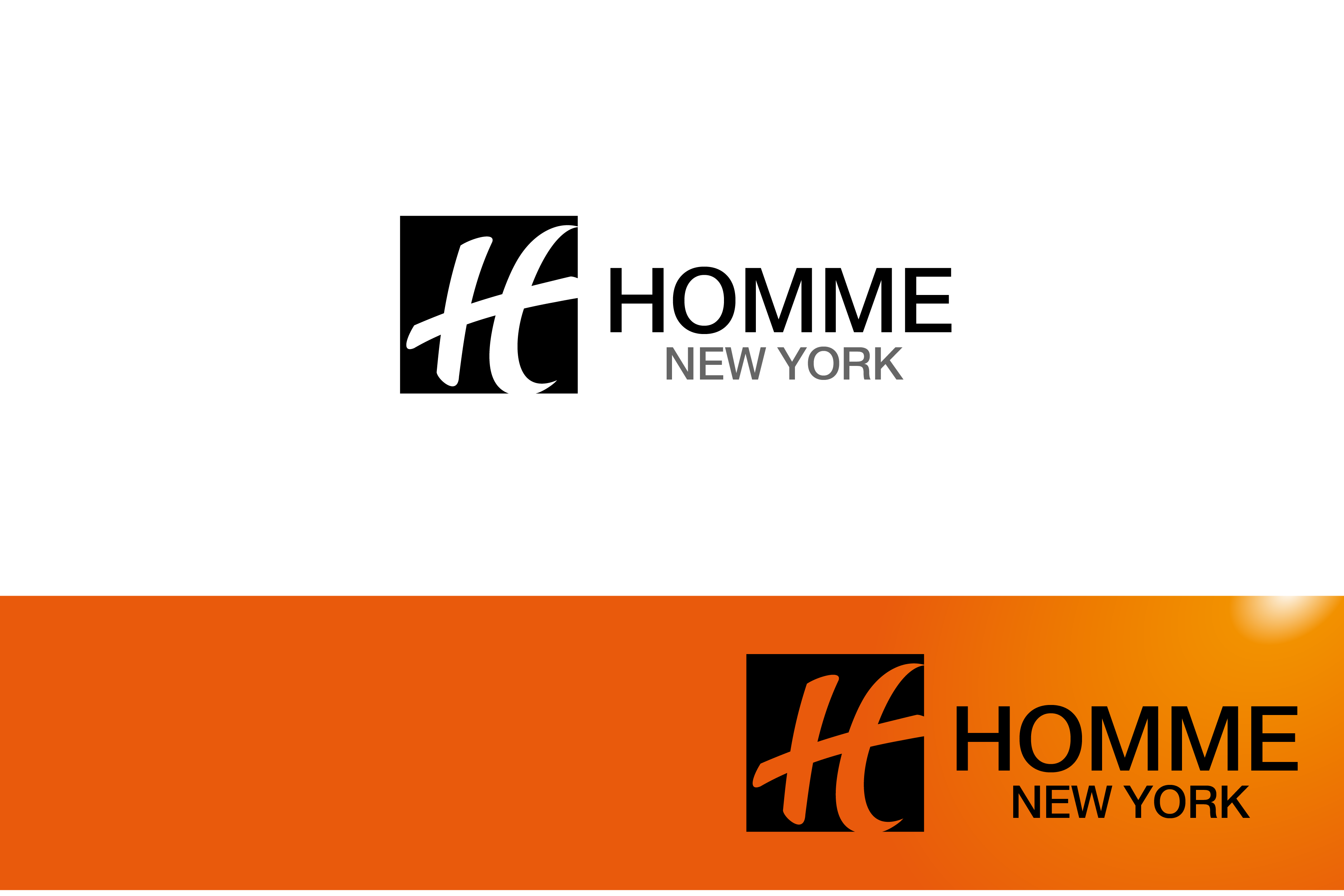 Logo Design by Private User - Entry No. 32 in the Logo Design Contest Artistic Logo Design for HOMME | NEW YORK.