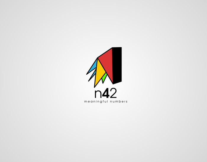 Logo Design by JaroslavProcka - Entry No. 59 in the Logo Design Contest Artistic Logo Design for Number 42.