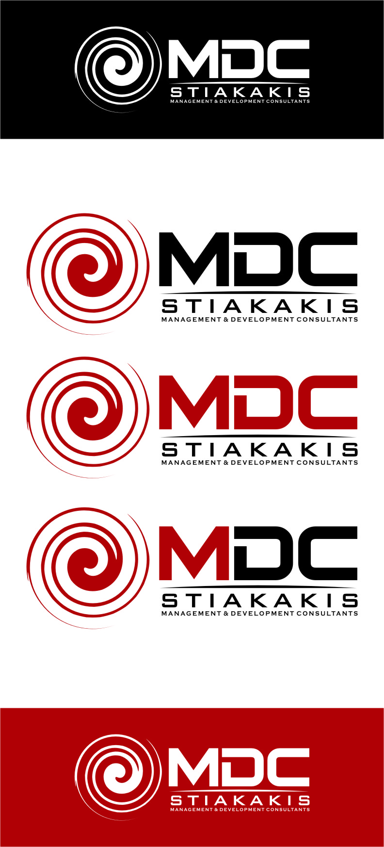 Logo Design by Ngepet_art - Entry No. 120 in the Logo Design Contest Unique Logo Design Wanted for MDC STIAKAKIS.