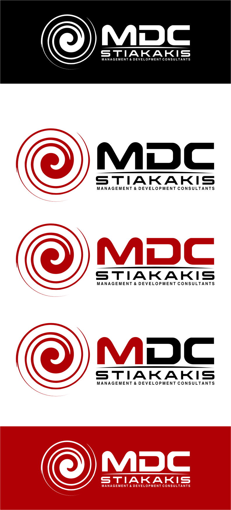 Logo Design by Ngepet_art - Entry No. 121 in the Logo Design Contest Unique Logo Design Wanted for MDC STIAKAKIS.
