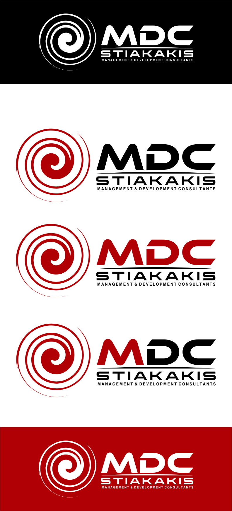 Logo Design by RasYa Muhammad Athaya - Entry No. 122 in the Logo Design Contest Unique Logo Design Wanted for MDC STIAKAKIS.
