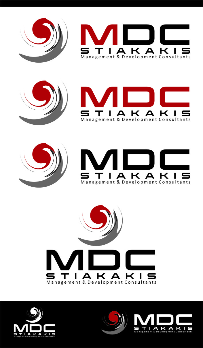 Logo Design by Ngepet_art - Entry No. 125 in the Logo Design Contest Unique Logo Design Wanted for MDC STIAKAKIS.