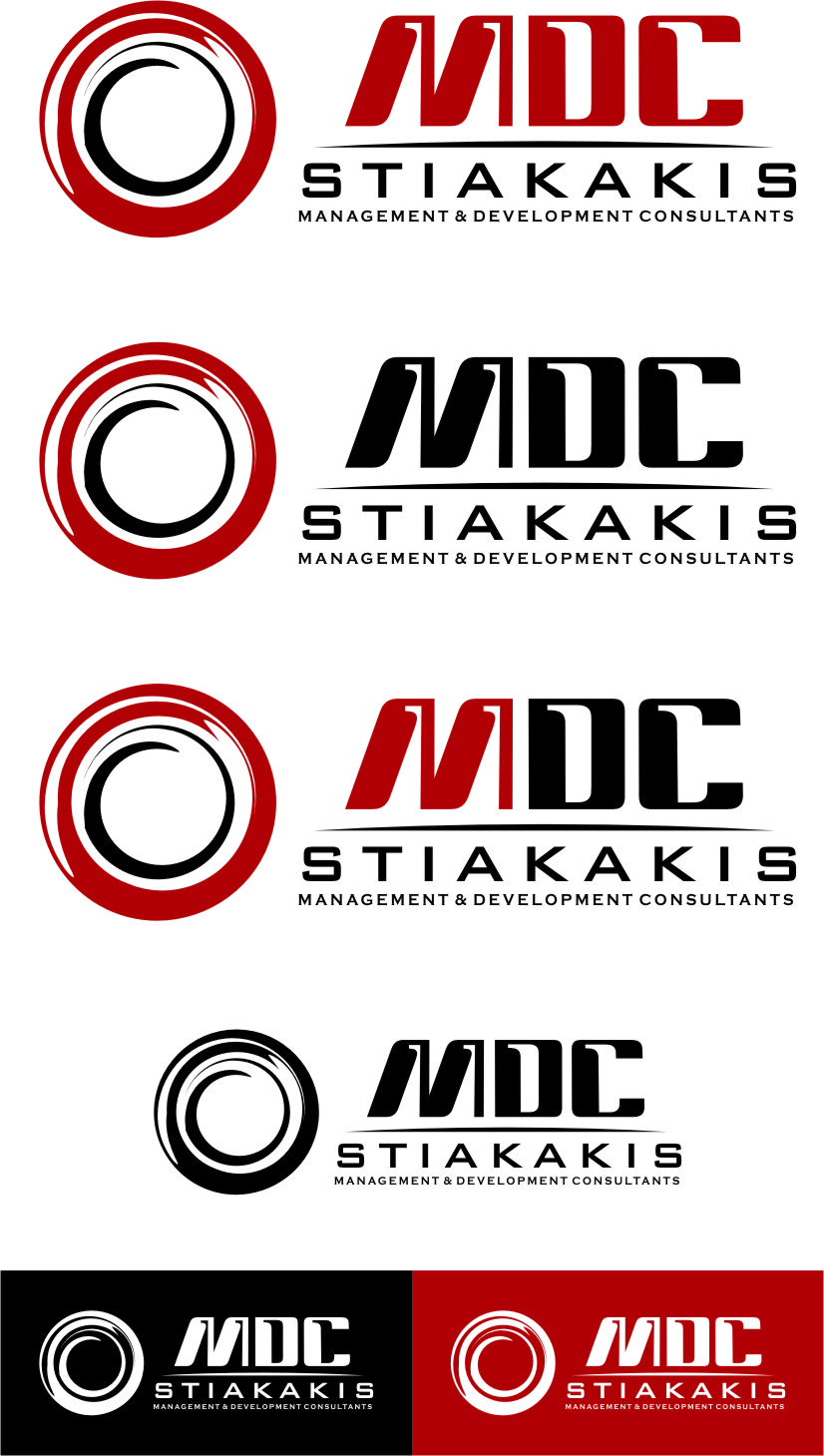 Logo Design by RoSyid Rono-Rene On Java - Entry No. 128 in the Logo Design Contest Unique Logo Design Wanted for MDC STIAKAKIS.