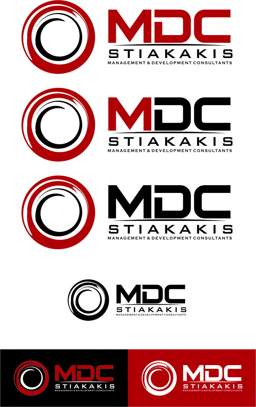 Logo Design by Ngepet_art - Entry No. 129 in the Logo Design Contest Unique Logo Design Wanted for MDC STIAKAKIS.