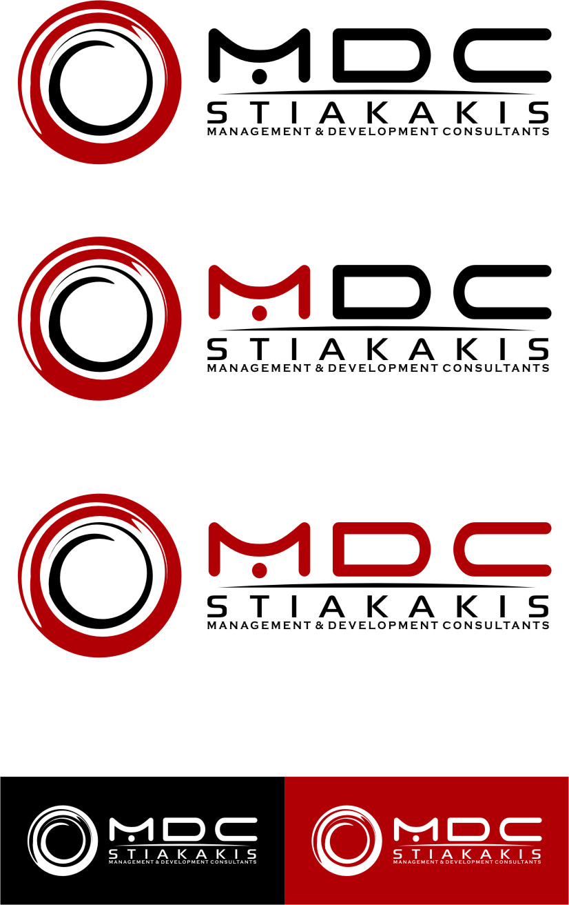 Logo Design by Ngepet_art - Entry No. 130 in the Logo Design Contest Unique Logo Design Wanted for MDC STIAKAKIS.
