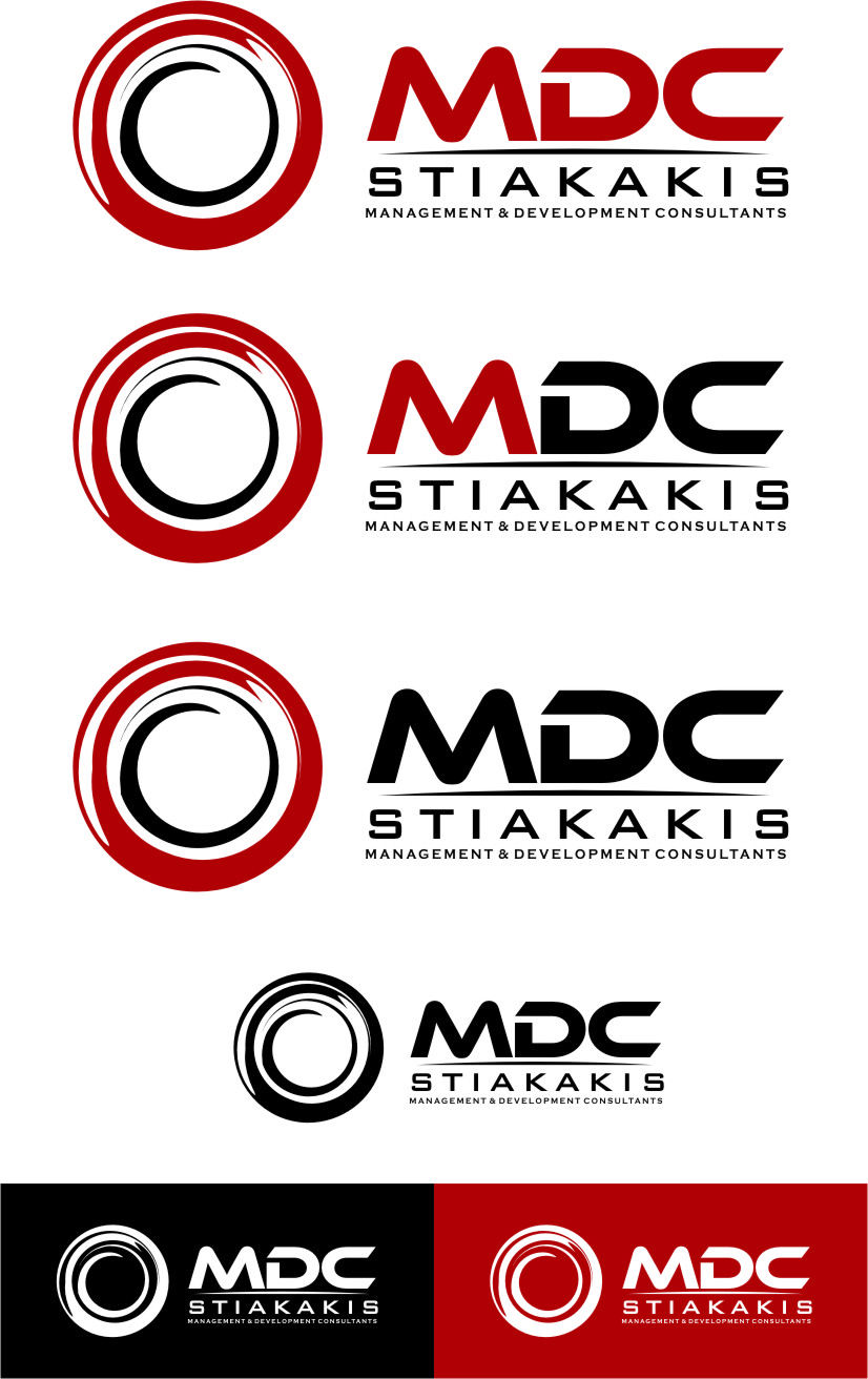Logo Design by Ngepet_art - Entry No. 131 in the Logo Design Contest Unique Logo Design Wanted for MDC STIAKAKIS.