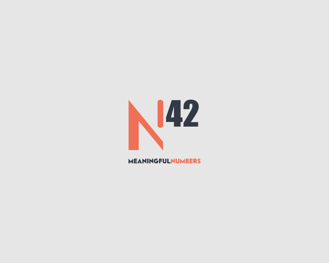 Logo Design by Q_Division_Designs - Entry No. 64 in the Logo Design Contest Artistic Logo Design for Number 42.