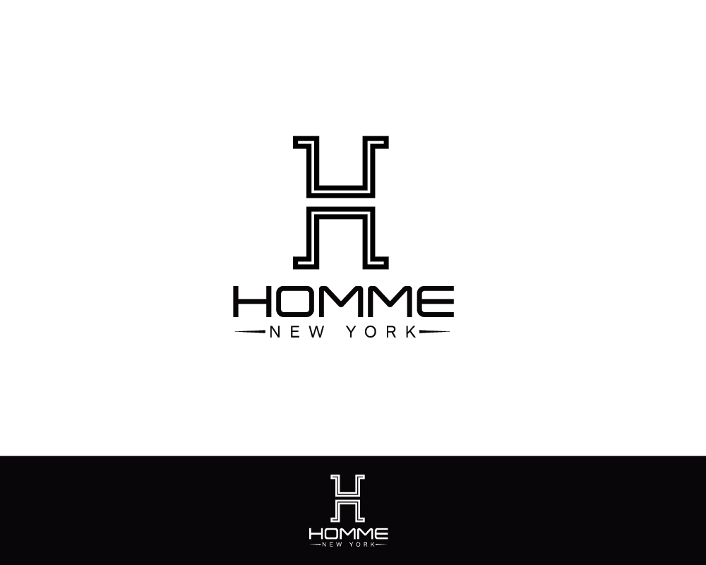 Logo Design by roc - Entry No. 33 in the Logo Design Contest Artistic Logo Design for HOMME | NEW YORK.