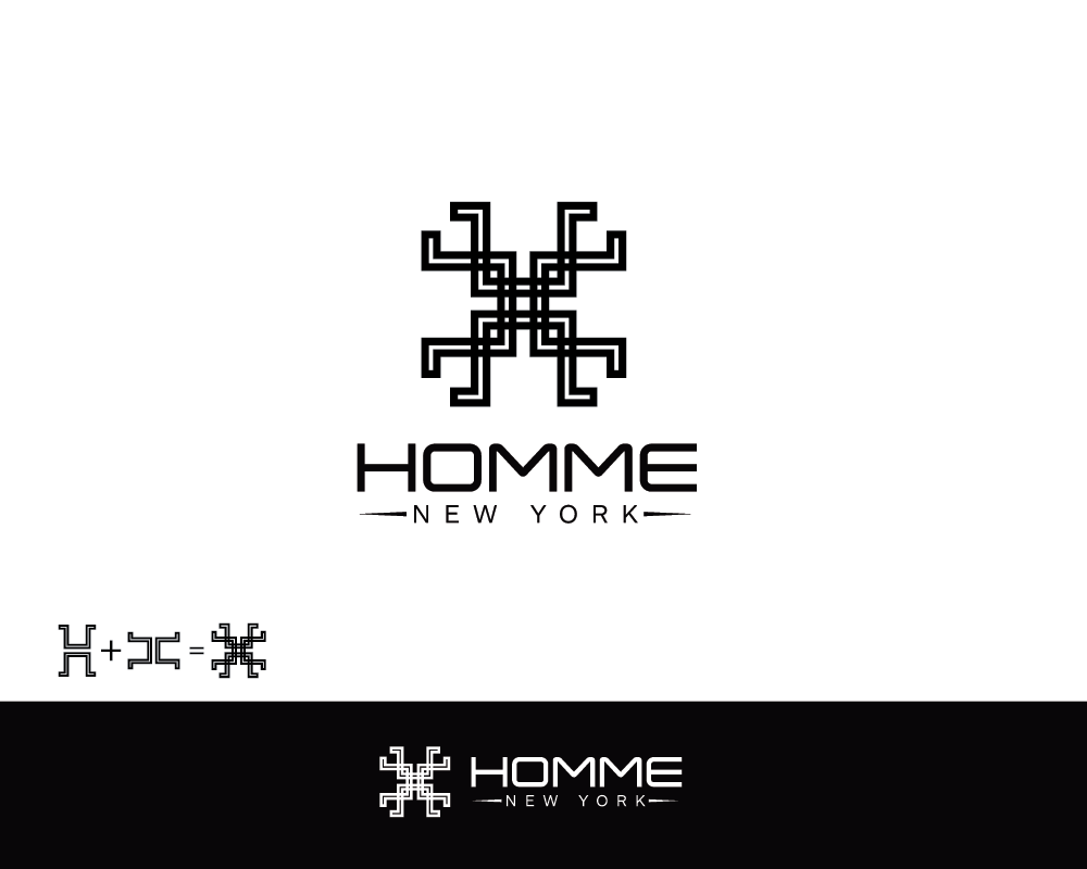 Logo Design by roc - Entry No. 34 in the Logo Design Contest Artistic Logo Design for HOMME | NEW YORK.