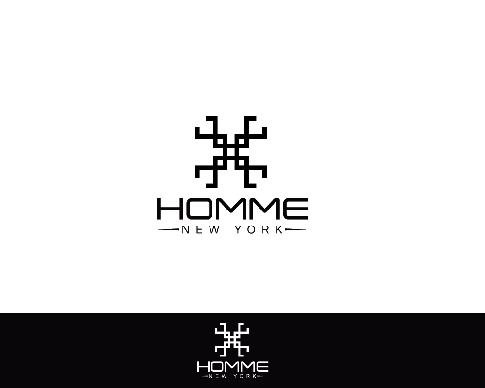 Logo Design by roc - Entry No. 35 in the Logo Design Contest Artistic Logo Design for HOMME | NEW YORK.
