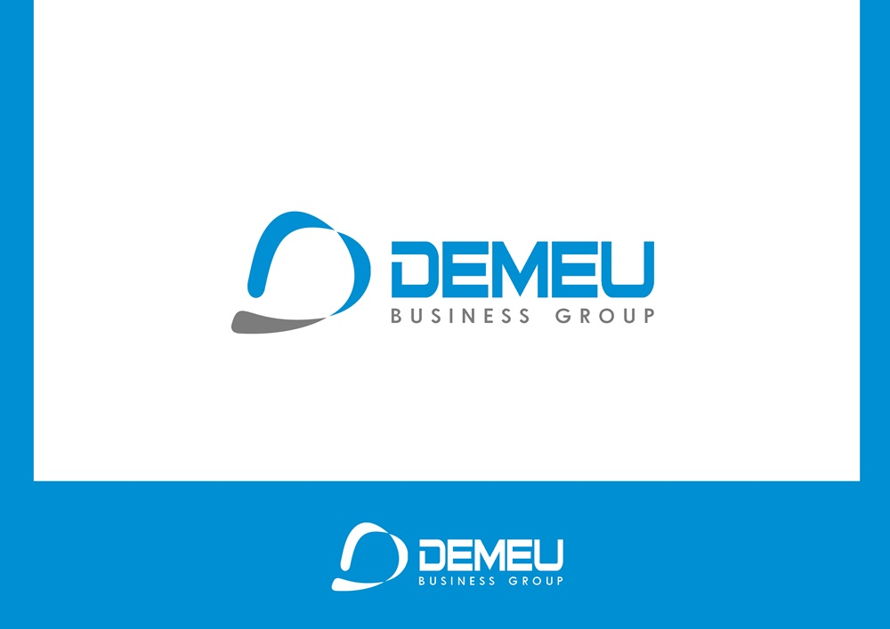 Logo Design by Respati Himawan - Entry No. 22 in the Logo Design Contest Captivating Logo Design for DEMEU Business Group.