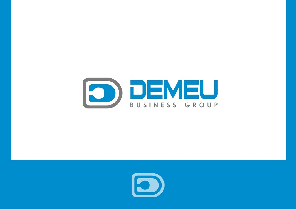 Logo Design by Respati Himawan - Entry No. 23 in the Logo Design Contest Captivating Logo Design for DEMEU Business Group.
