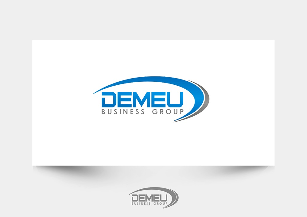 Logo Design by Respati Himawan - Entry No. 24 in the Logo Design Contest Captivating Logo Design for DEMEU Business Group.
