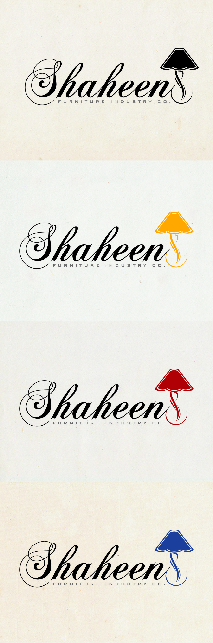 Logo Design by RasYa Muhammad Athaya - Entry No. 102 in the Logo Design Contest Artistic Logo Design for Shaheen Furniture Industry Co..