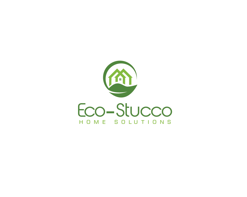 Logo Design by roc - Entry No. 1 in the Logo Design Contest Unique Logo Design Wanted for Eco-Stucco Home Solutions.