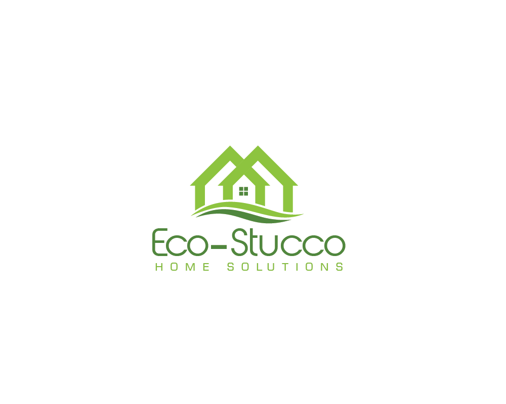 Logo Design by roc - Entry No. 2 in the Logo Design Contest Unique Logo Design Wanted for Eco-Stucco Home Solutions.