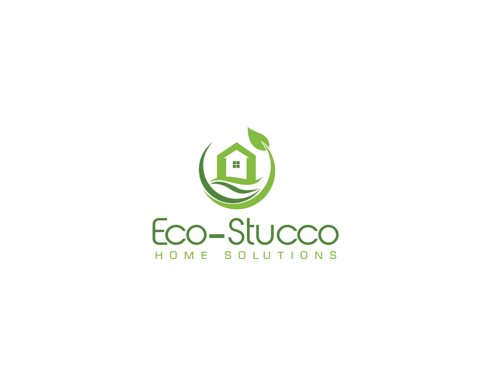 Logo Design by roc - Entry No. 5 in the Logo Design Contest Unique Logo Design Wanted for Eco-Stucco Home Solutions.