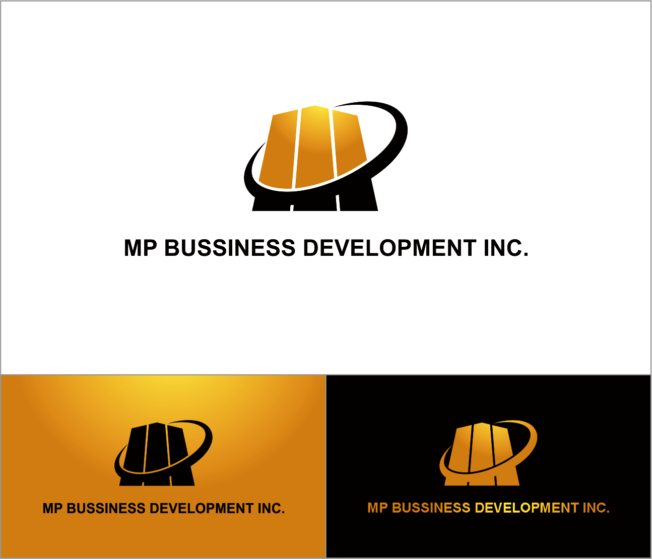 Logo Design by Armada Jamaluddin - Entry No. 179 in the Logo Design Contest MP Business Development Inc. Logo Design.