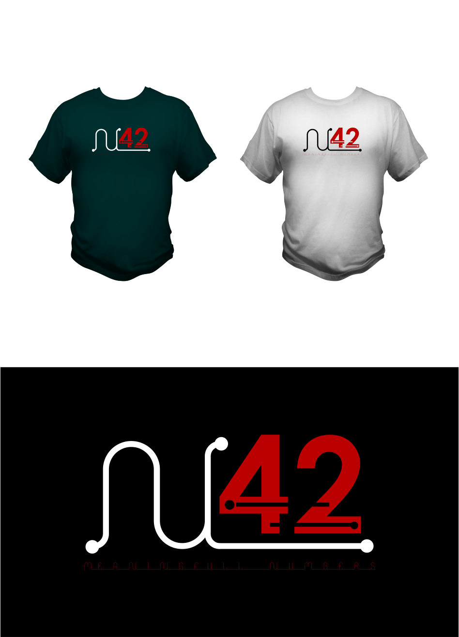 Logo Design by Agus Martoyo - Entry No. 72 in the Logo Design Contest Artistic Logo Design for Number 42.