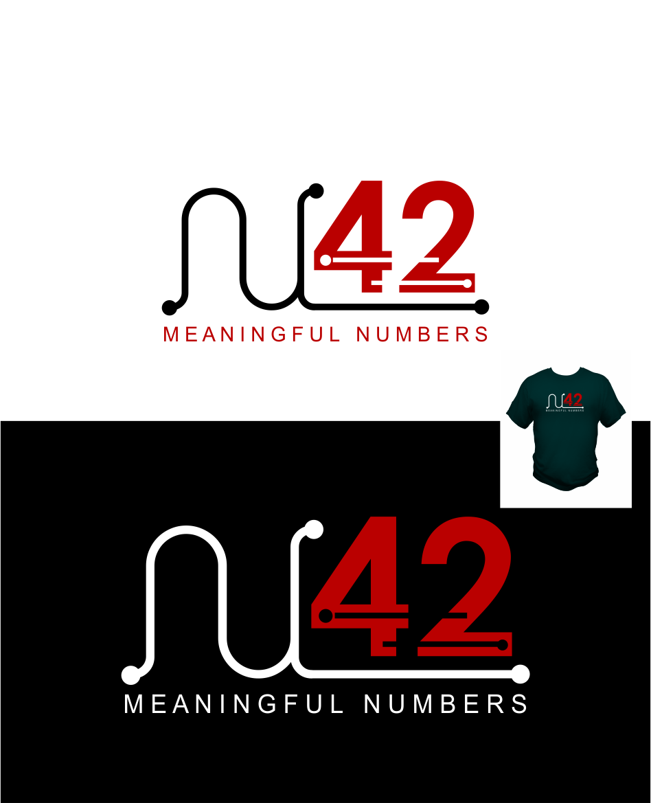 Logo Design by Agus Martoyo - Entry No. 74 in the Logo Design Contest Artistic Logo Design for Number 42.