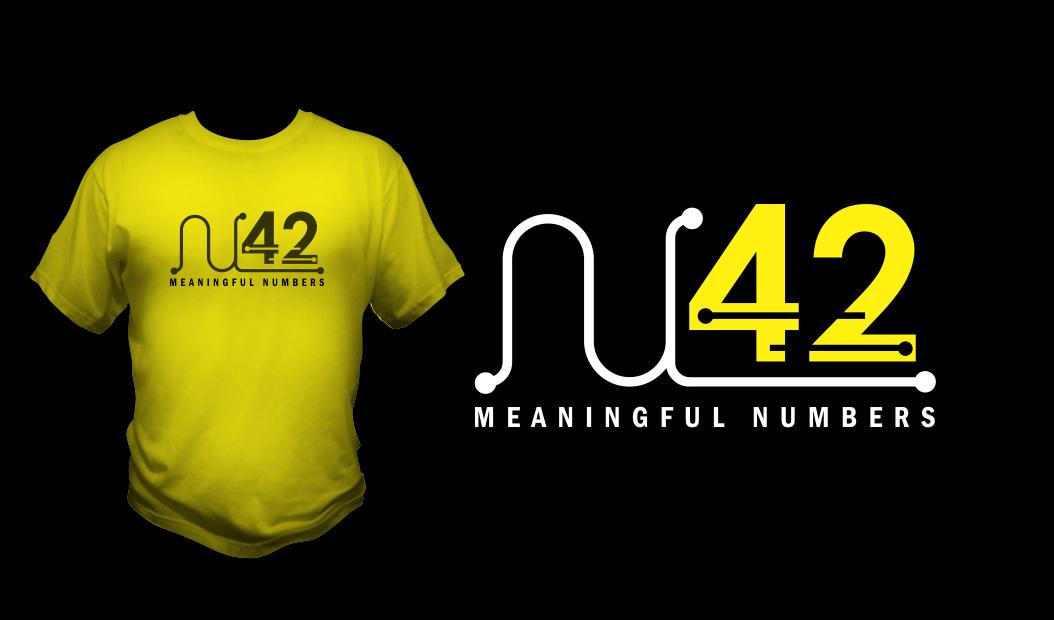 Logo Design by Agus Martoyo - Entry No. 75 in the Logo Design Contest Artistic Logo Design for Number 42.