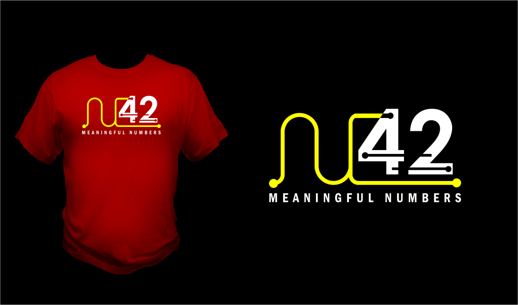 Logo Design by Agus Martoyo - Entry No. 76 in the Logo Design Contest Artistic Logo Design for Number 42.